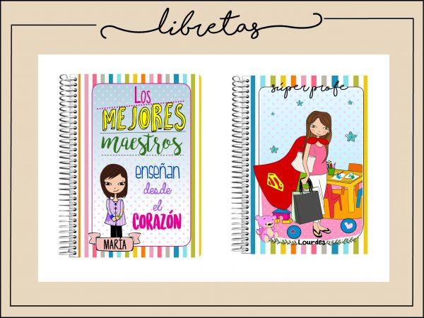 Libretas personalizadas